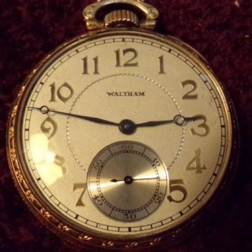 Waltham Grade Premier Pocket Watch Image