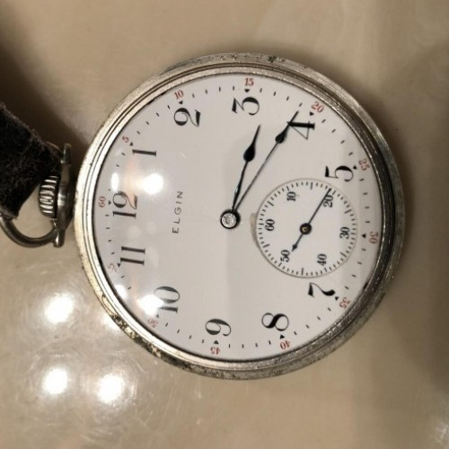 Elgin Grade 347 Pocket Watch Image