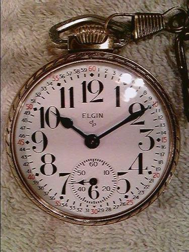 Elgin Grade 575 Pocket Watch Image