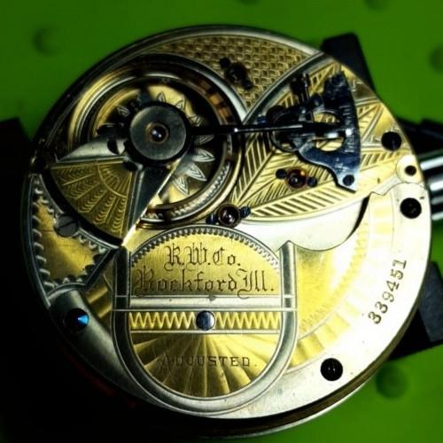 Rockford Grade 70 Pocket Watch Image