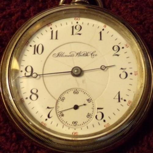 Illinois Grade 64 Pocket Watch Image