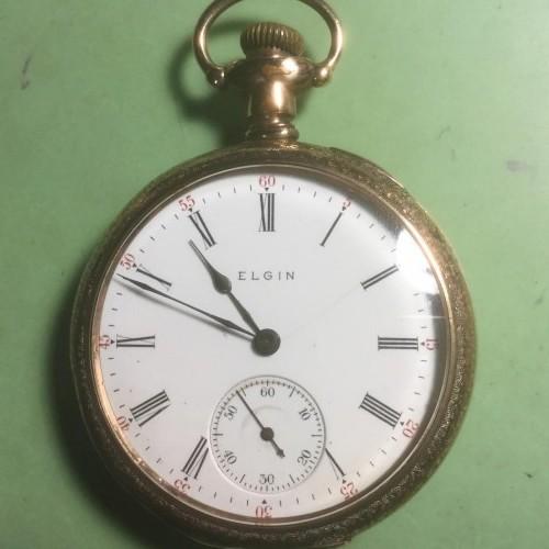 Elgin Grade 306 Pocket Watch Image