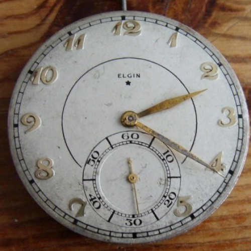 Elgin Grade 498 Pocket Watch Image