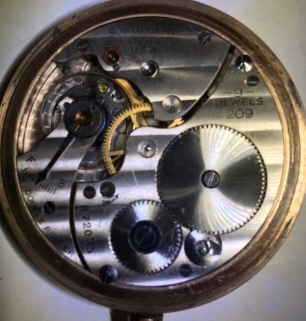 South Bend Grade 209 Pocket Watch Image