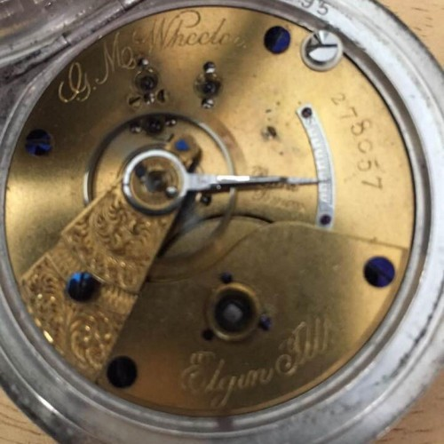 Elgin Grade 81 Pocket Watch Image