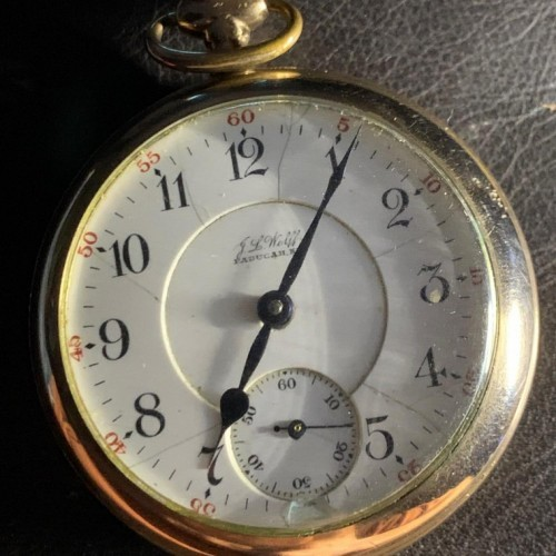 Illinois Grade 69 Pocket Watch Image