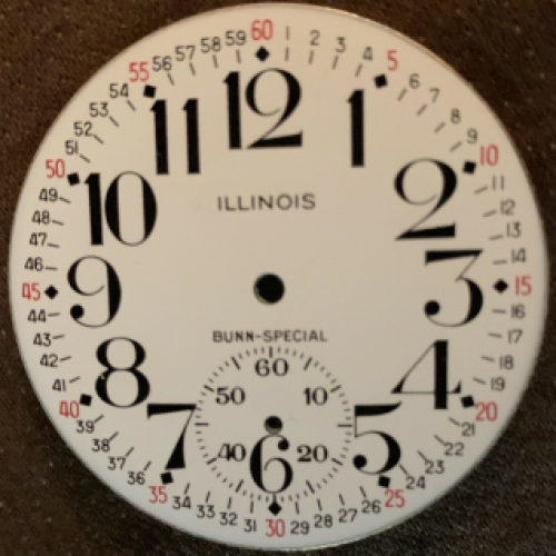 Image of Illinois Bunn Special #3767897 Dial