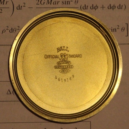 Image of Ball - Waltham Official Standard #B236531 Case