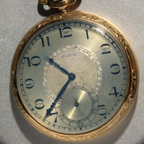 Elgin Grade 477 Pocket Watch Image