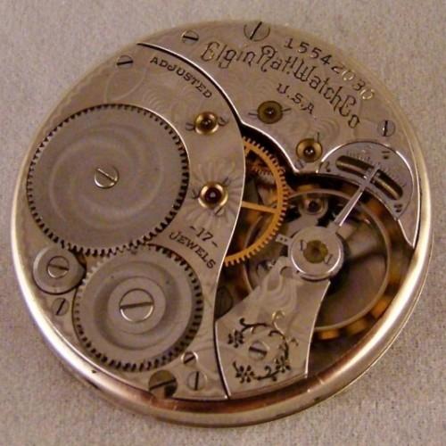 Elgin Grade 384 Pocket Watch Image