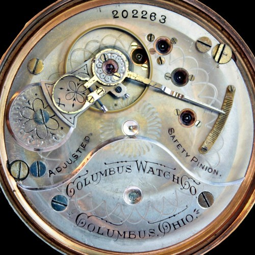 Columbus Watch Co. Grade 95 Pocket Watch Image