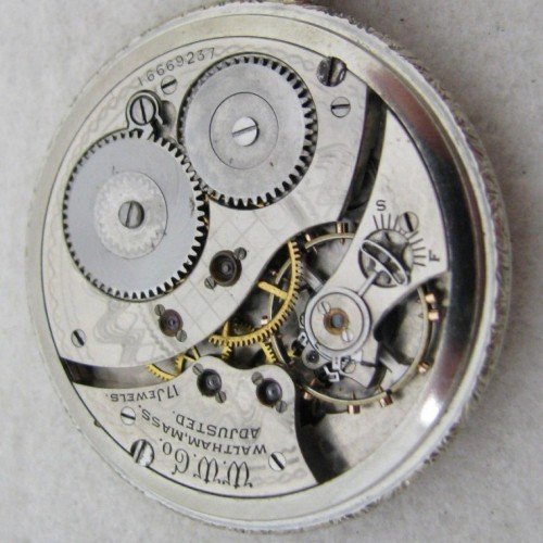 Waltham Grade No. 230 Pocket Watch Image