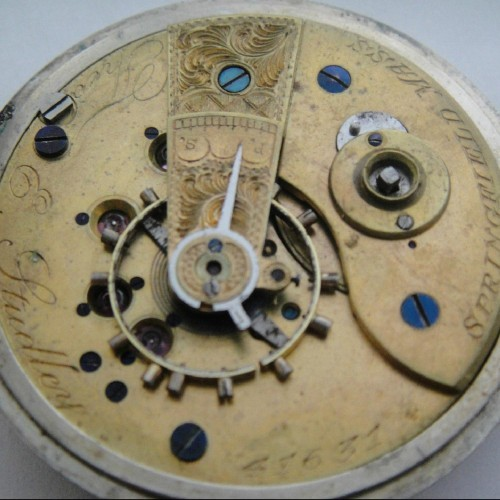New York Watch Co. Grade  Pocket Watch Image