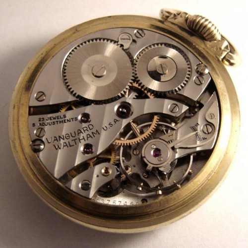 Waltham Grade No. 1623 Pocket Watch Image