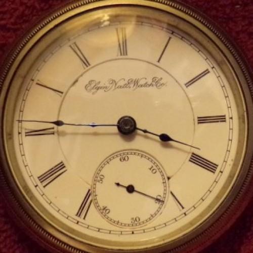 Elgin Grade 166 Pocket Watch Image