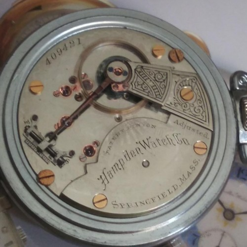 Hampden Grade No. 60 Pocket Watch Image