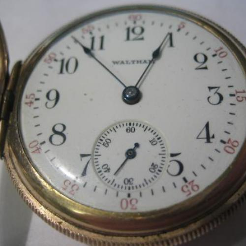 Waltham Grade No. 161 Pocket Watch Image