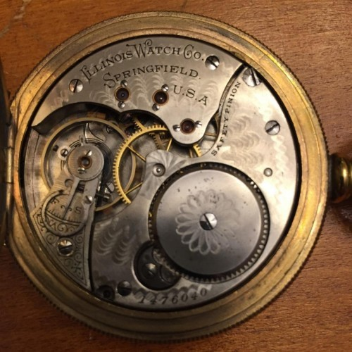 Illinois Grade 172 Pocket Watch