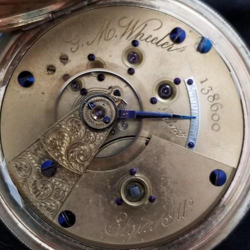 National Watch Co. Grade 57 Pocket Watch Image