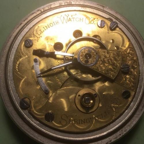 Illinois Grade 3 Pocket Watch Image