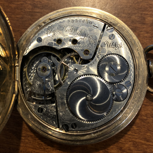 Elgin Grade 152 Pocket Watch Image