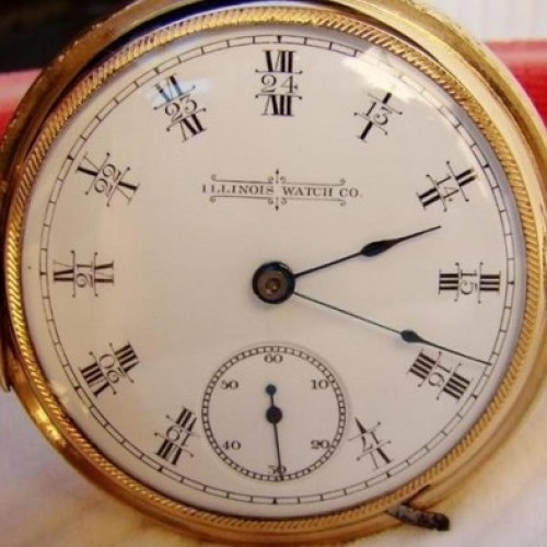 Illinois Grade 101 Pocket Watch