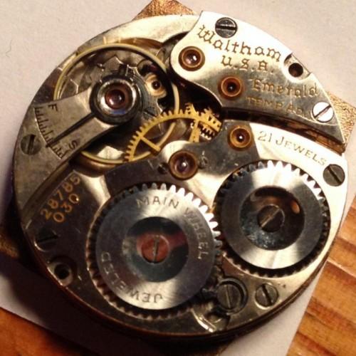 Waltham Grade No. 621 Pocket Watch Image
