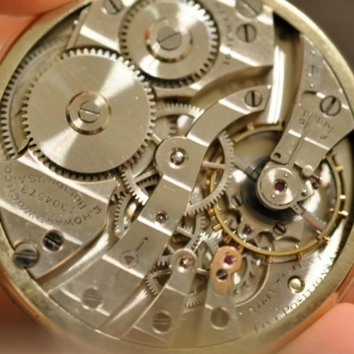 Image of E. Howard Watch Co. (Keystone) Series 6 #1304573 Movement