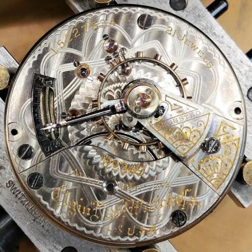 Elgin Grade 349 Pocket Watch Image