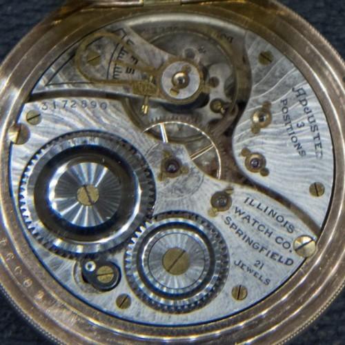 Illinois Grade 274 Pocket Watch Image