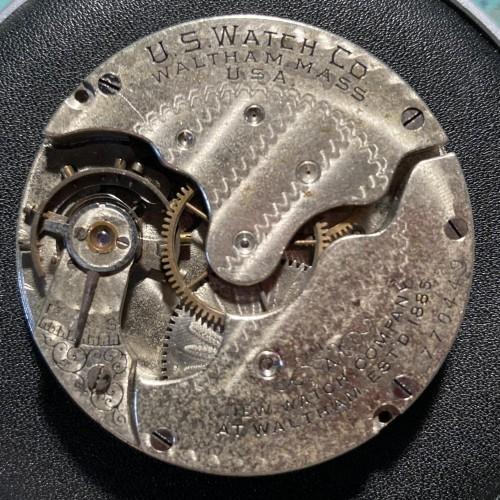 U.S. Watch Co. (Waltham, Mass) Grade 109 Pocket Watch Image