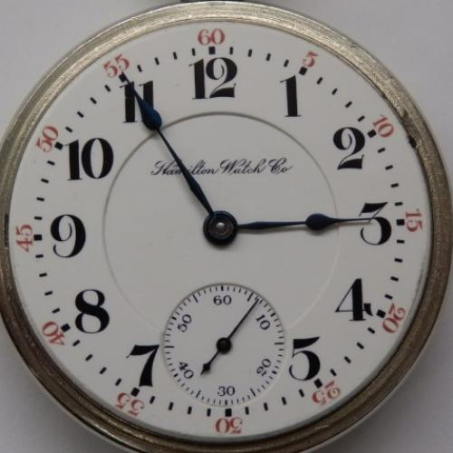 Hamilton Grade 946 Pocket Watch