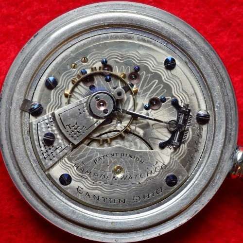 Hampden Grade No. 44 Pocket Watch Image