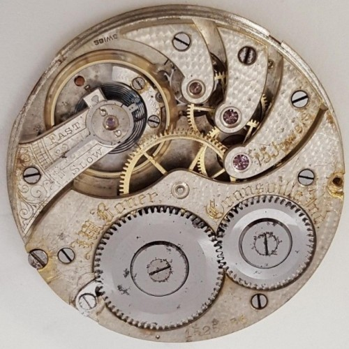 Longines Grade 19.70 Pocket Watch Image