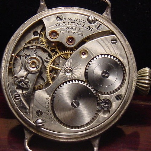 Waltham Grade No. 365 Pocket Watch Image