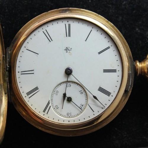 Elgin Grade 22 Pocket Watch Image