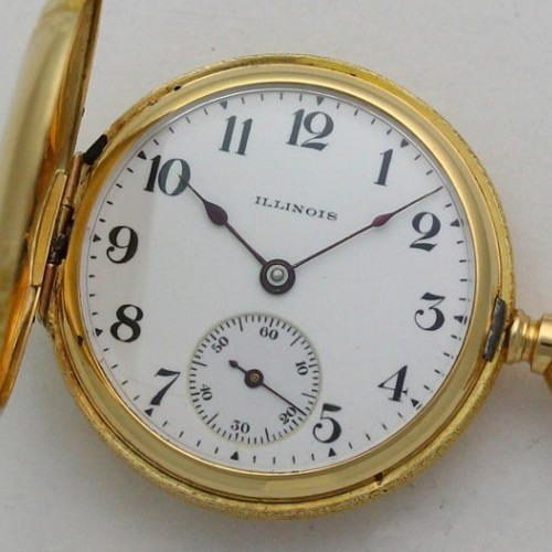 Illinois Grade 203 Pocket Watch Image