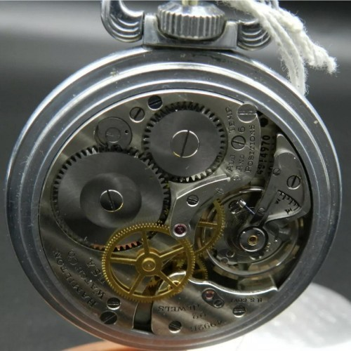 Hamilton Grade 4992B Pocket Watch