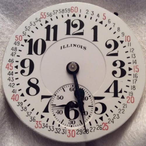 Illinois Grade 161A Pocket Watch Image