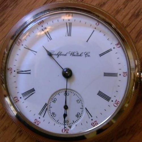 Rockford Grade 835 Pocket Watch Image