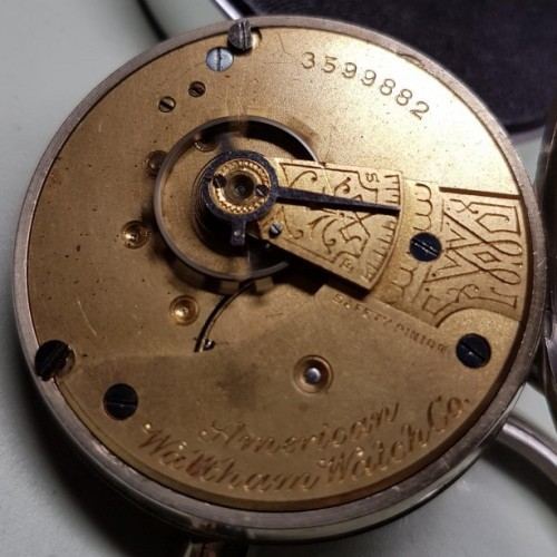 Waltham Grade No. 1 Pocket Watch Image