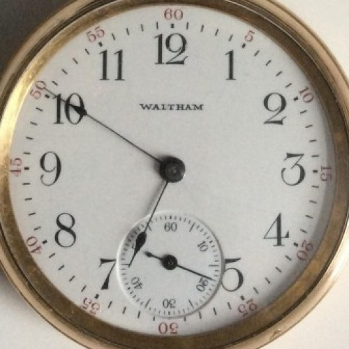 Image of Waltham No. 630 #17014355 Dial