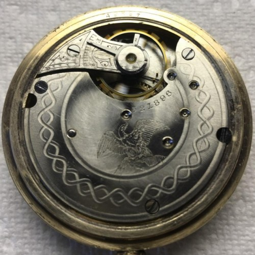 Seth Thomas Grade 37 Pocket Watch Image