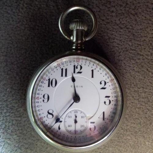 Elgin Grade 240 Pocket Watch Image