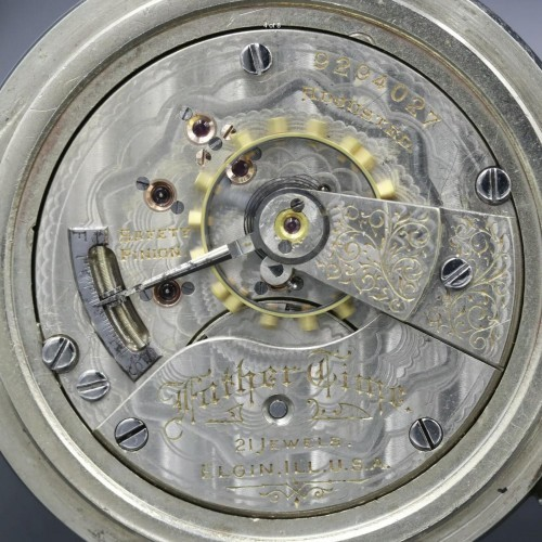 Elgin Grade 252 Pocket Watch Image