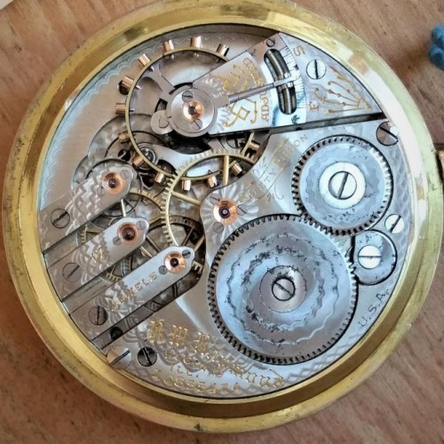 Elgin Grade 280 Pocket Watch Image