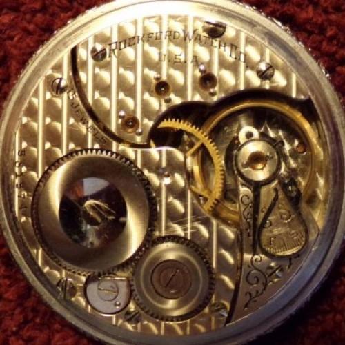 Rockford Grade 585 Pocket Watch Image