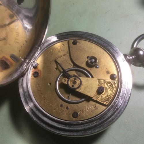 Elgin Grade 60 Pocket Watch Image