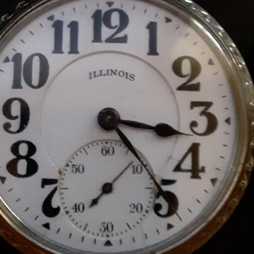 Illinois Grade Bunn Special Pocket Watch Image
