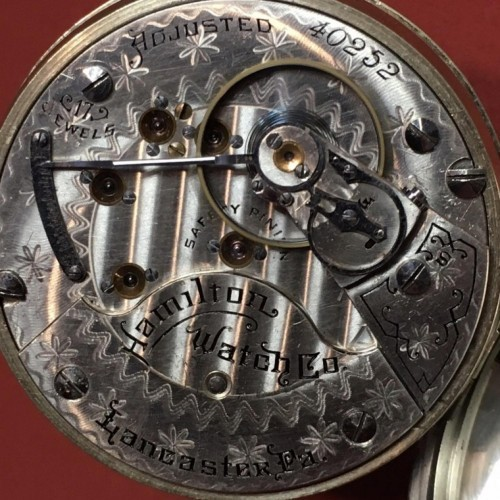 Hamilton Grade 934 Pocket Watch Image